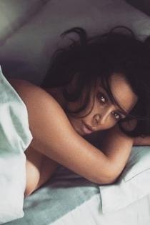 El pezón curioso de Kim Kardashian desnuda en Instagram