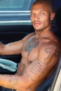 Jeremy Meeks, amante de los tatuajes