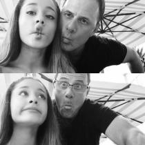 Famosos con sus padres: Ariana Grande y su lado más divertido