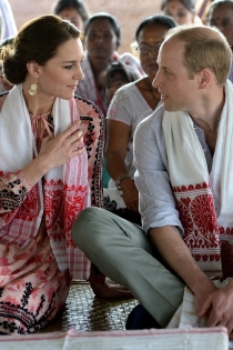 Kate Middleton y Guillermo de Cambridge, miradas cómplices