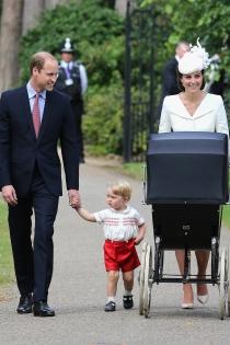 Kate Middleton y Guillermo de Cambridge, familia feliz