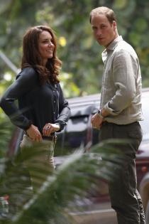 Kate Middleton y Guillermo de Cambridge, siempre juntos