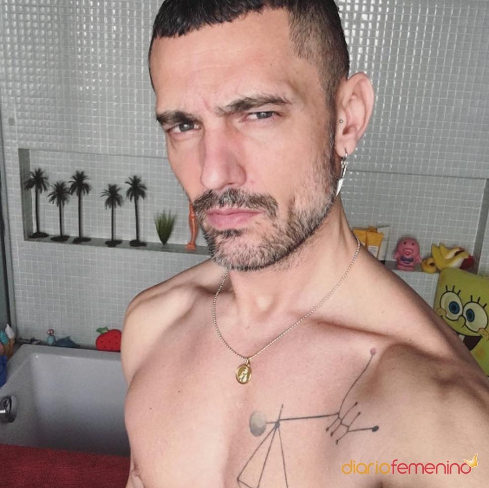 David Delfín, amante de los tatuajes