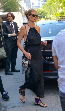 Heidi Klum, look casual