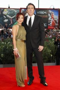 Divorcios famosos: Nicolas Cage y Alice Kim