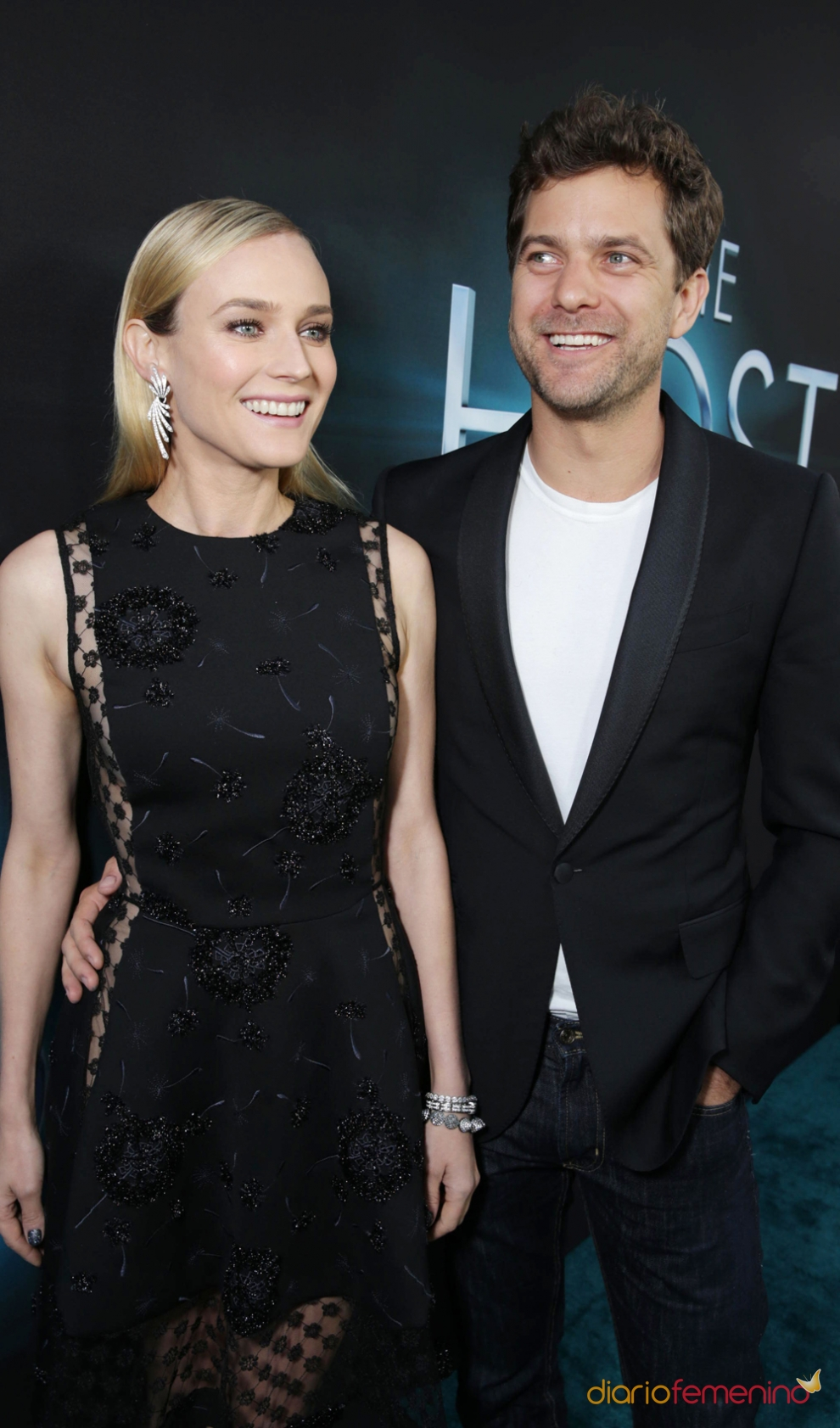 diane kruger y joshua jackson todo sonrisas. Black Bedroom Furniture Sets. Home Design Ideas