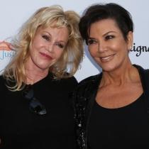 Famosas que no sabías que son amigas: Kris Jenner y Melanie Griffith