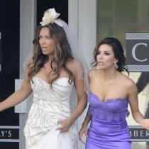 Famosas que no sabías que son amigas: Eva Longoria y Vanessa Williams
