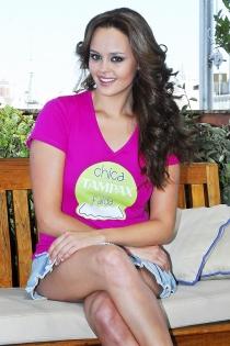 Shaila Dúrcal también fue chica Tampax en 2008