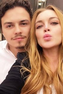 Lindsay Lohan y Egor Tarabasov, selfies con amor