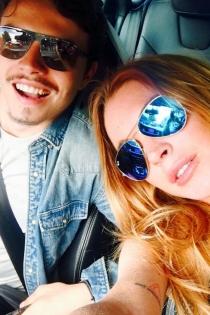 Lindsay Lohan y Egor Taravasov, todo felicidad
