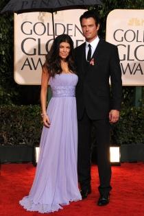 Fergie y su marido, pareja de gala en los Globos de Oro
