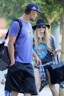 Fergie y su marido Josh Duhamel, bonitos días en familia
