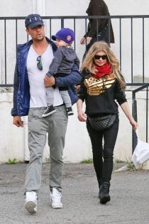 Josh Duhamel y Fergie, orgullosos papás de un niño