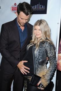 Fergie, durante su embarazo con Josh Duhamel