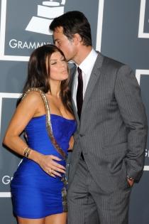 Josh Duhamel, siempre pendiente de Fergie