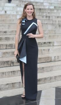 Famosos con la alta costura de París: Jennifer Garner, elegante y sofisticada