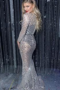 Fergie, divina y sexy en los eventos
