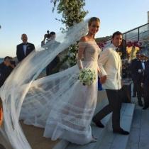 Ana Beatriz Barros, una novia bohemia en Mykonos