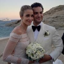 Ana Beatriz Barros, feliz en su boda junto a su marido