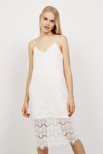 Un vestido blanco de Bershka para ir guapa a Ibiza
