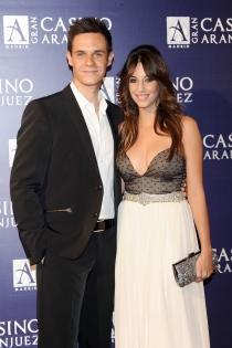 Almudena Cid y Christian Gálvez, siempre juntos y enamorados