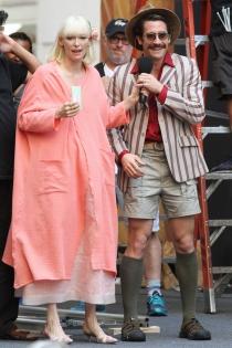 Rodajes de películas: Jake Gyllenhaal y Tilda Swinton en Okja