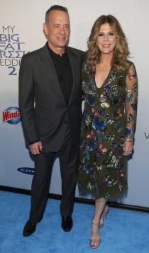 Las parejas famosas más sólidas: Tom Hanks y Rita Wilson