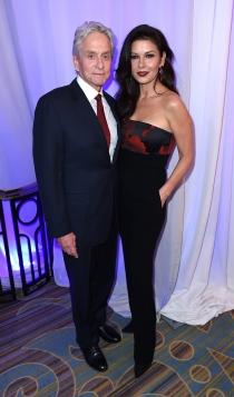 Las parejas famosas más sólidas: Catherine Zeta Jones y Michael Douglas