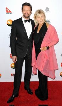 Las parejas famosas más sólidas: Hugh Jackman y Deborra Lee Furness