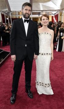 Las parejas famosas más sólidas: Julianne Moore y Bart Freundlich