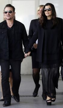 Las parejas famosas más sólidas: Bono y Alison Hewson