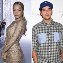 Peleas de famosos en Twitter: Rob Kardashian y Rita Ora