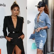Peleas de famosos en Twitter: Ciara y Rihanna