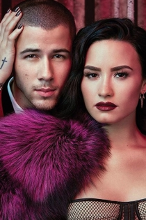 Demi Lovato y Nick Jonas, muy sexys