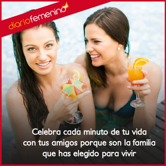 Frases De Amor Para Los Amigos Son La Familia Mas Importante Del Mundo