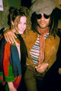 Lenny Kravitz fue el novio de Kylie Minogue durante un tiempo