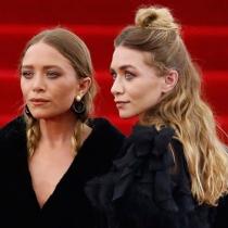 Las Olsen, embajadoras del 'Half-up bun'