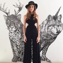 El complemento ideal de Chiara Ferragni: Sombrero de fiesta