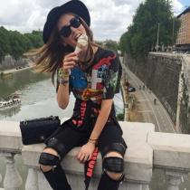 El complemento ideal de Chiara Ferragni: Estilo grunge