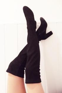 Shoefie: Blanca Suárez enseña botas