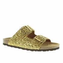7 'Ugly Shoes' con estilo: Glitter dorado