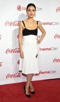 Mila Kunis, black & white
