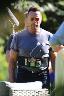 Rodajes de películas: Arnold Schwarzenegger en Why we're Killing Gunther
