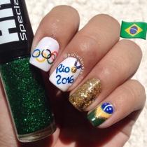 Olympicnails: Brasil