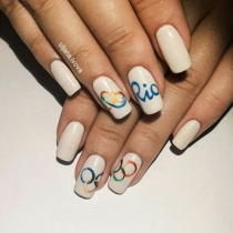 Olympicnails: Blancas