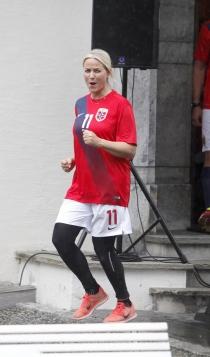 El lado más deportista de Mette Marit