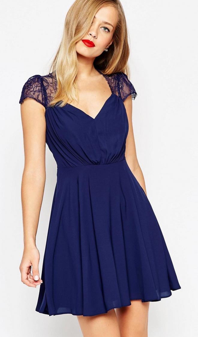 Vestidos azules para boda