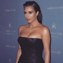Mayoría de A: Kim Kardashian