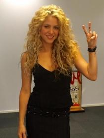 Famosas con pecho pequeño: Shakira